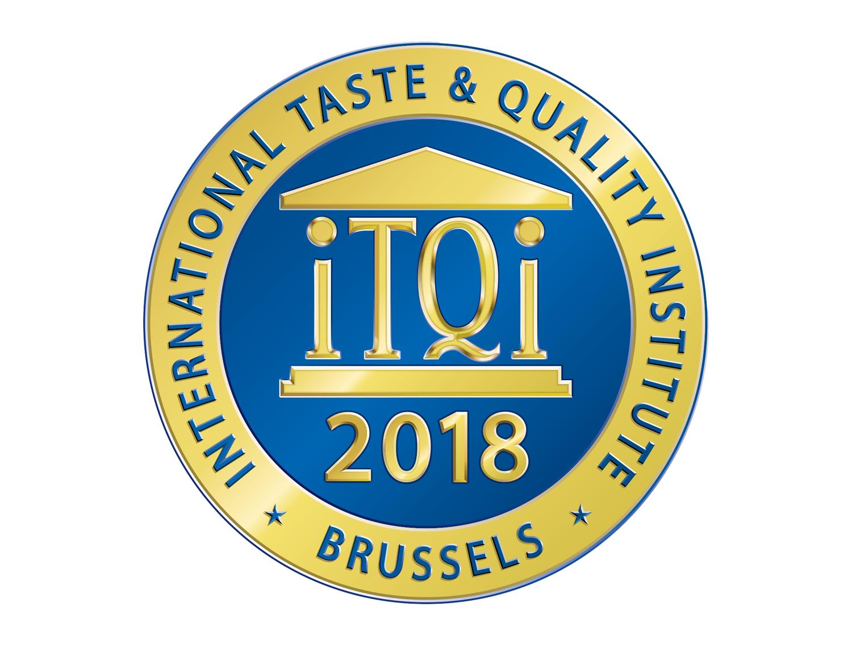 รางวัลระดับสากล จากประเทศเบลเยี่ยม (Superior Taste Award 2018)