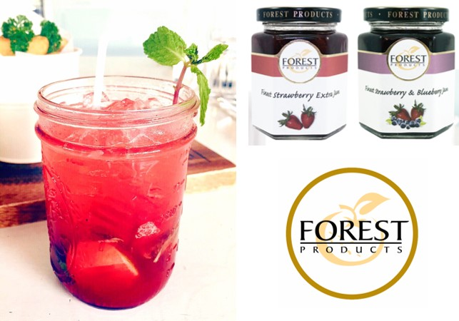 Forest For Love Mocktail - Forest Strawberry Jam