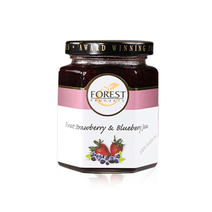 FINEST STRAWBERRY AND BLUEBERRY EXTRA JAM